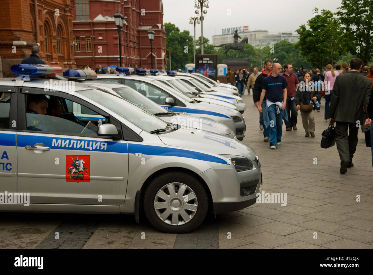 Russian Police Car Stock Photos Russian Police Car Stock Images