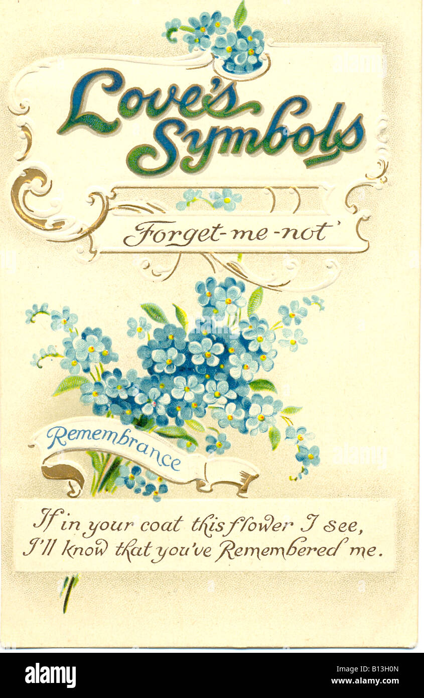 Chromolithographed And Embossed Picture Postcard In Series Loves