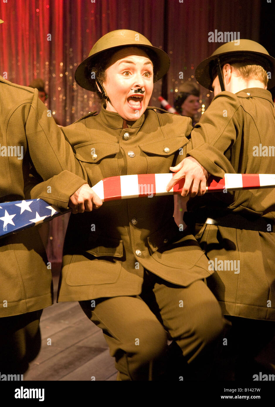 Samantha Spiro as Fanny Brice in Funny Girl Chichester Festival Theatre May 2008 - Stock Image