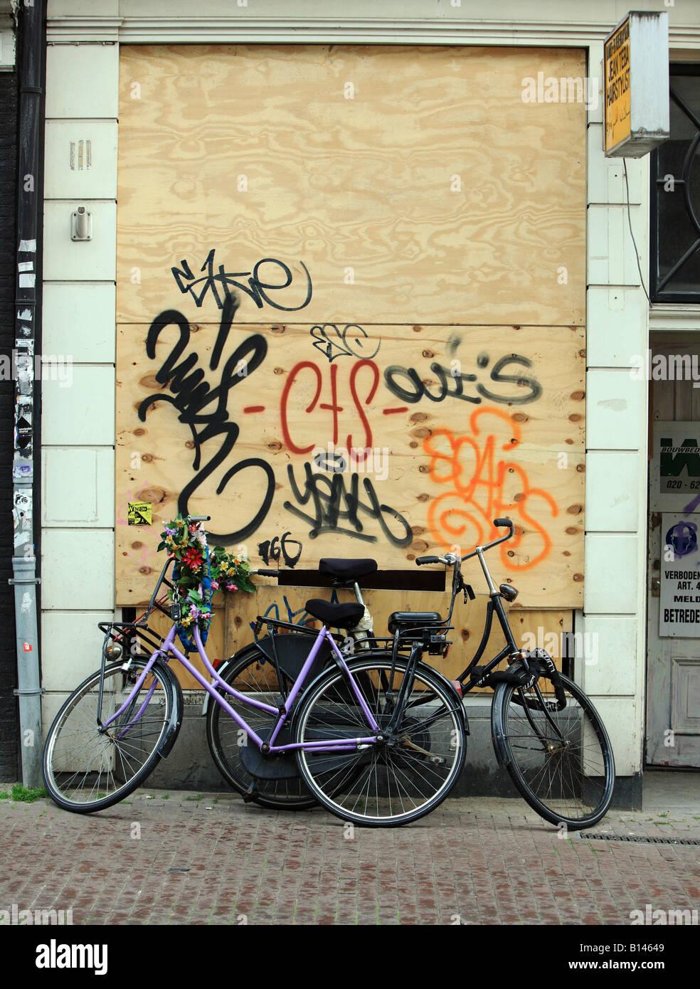 Amsterdam Bikes Two Stock Photos & Amsterdam Bikes Two Stock Images ...