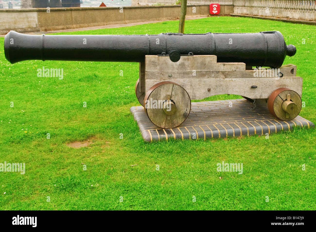 Old fort canon - Stock Image