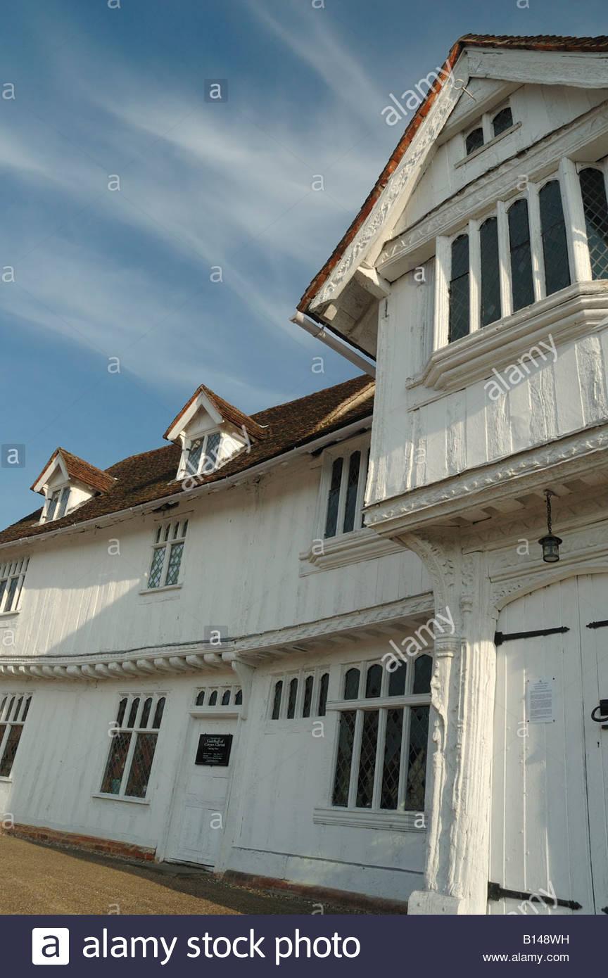 Lavenham Guildhall, Suffolk UK - Stock Image