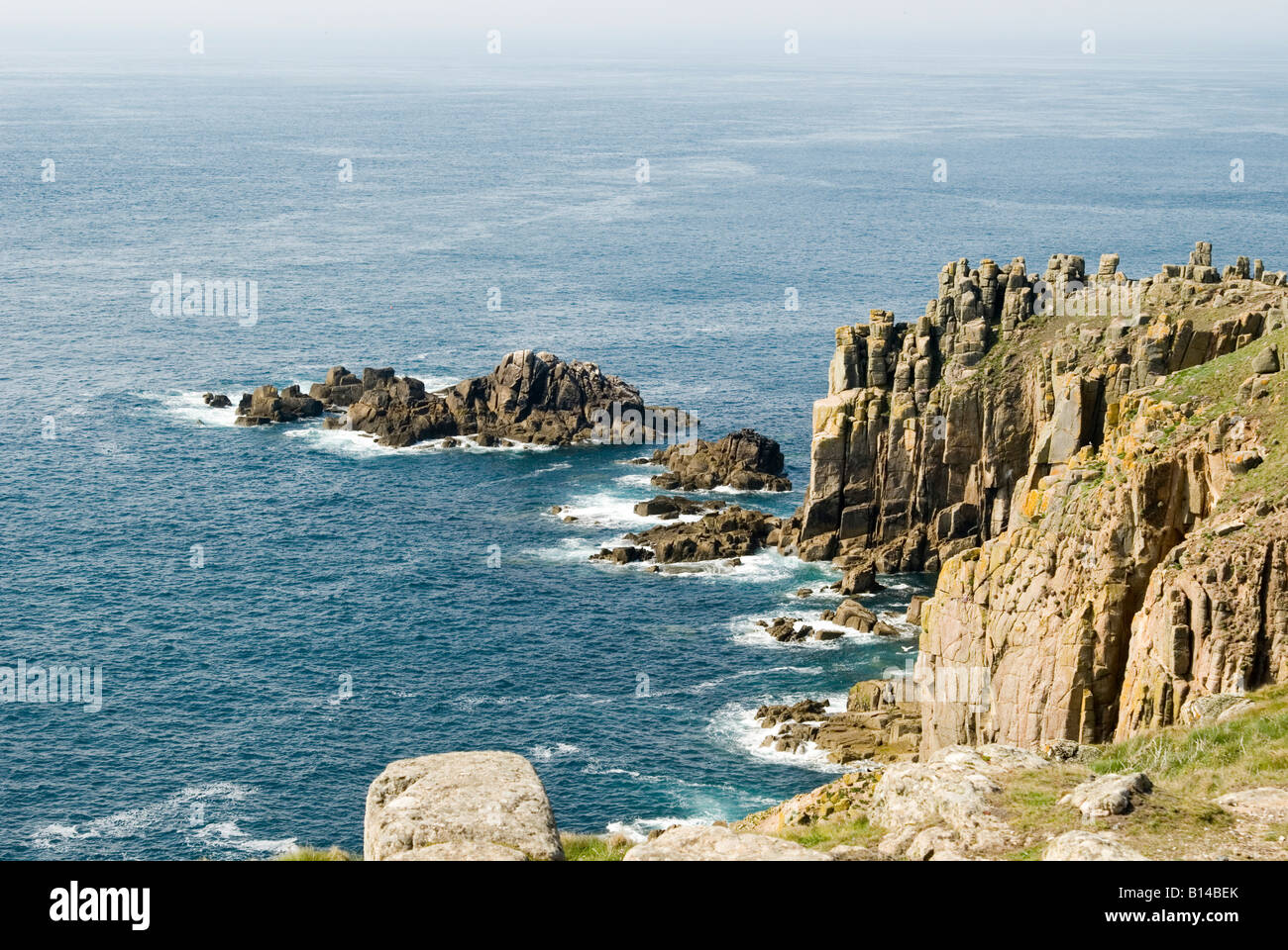 Land's End, Cornwall, U.K. - Stock Image