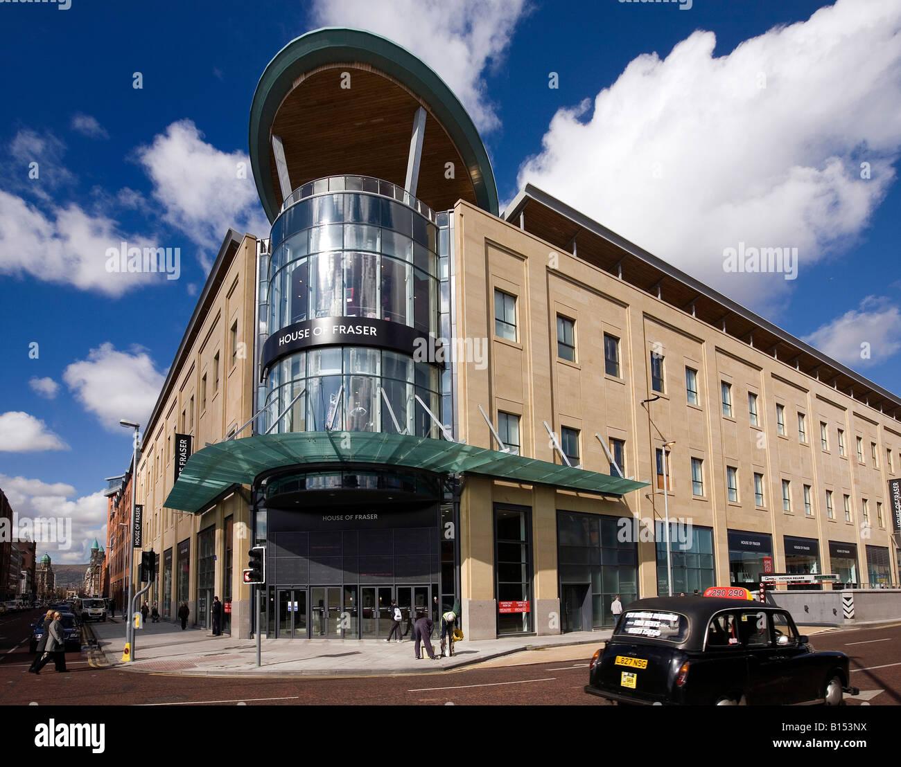 Victoria Square Belfast Stock Photos & Victoria Square