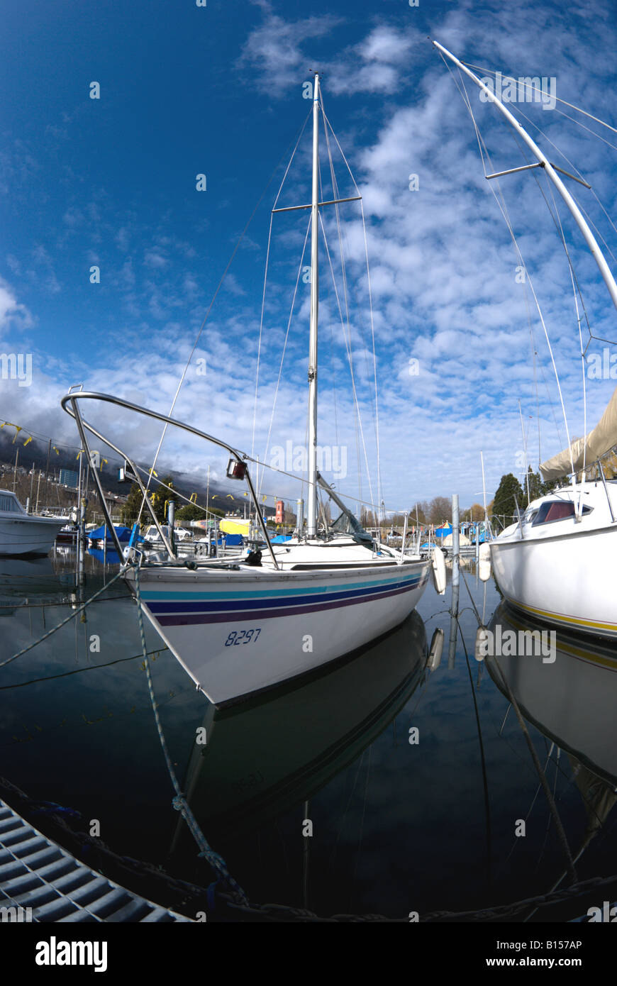 Lac Neuchâtel Switzerland Stock Photos & Lac Neuchâtel