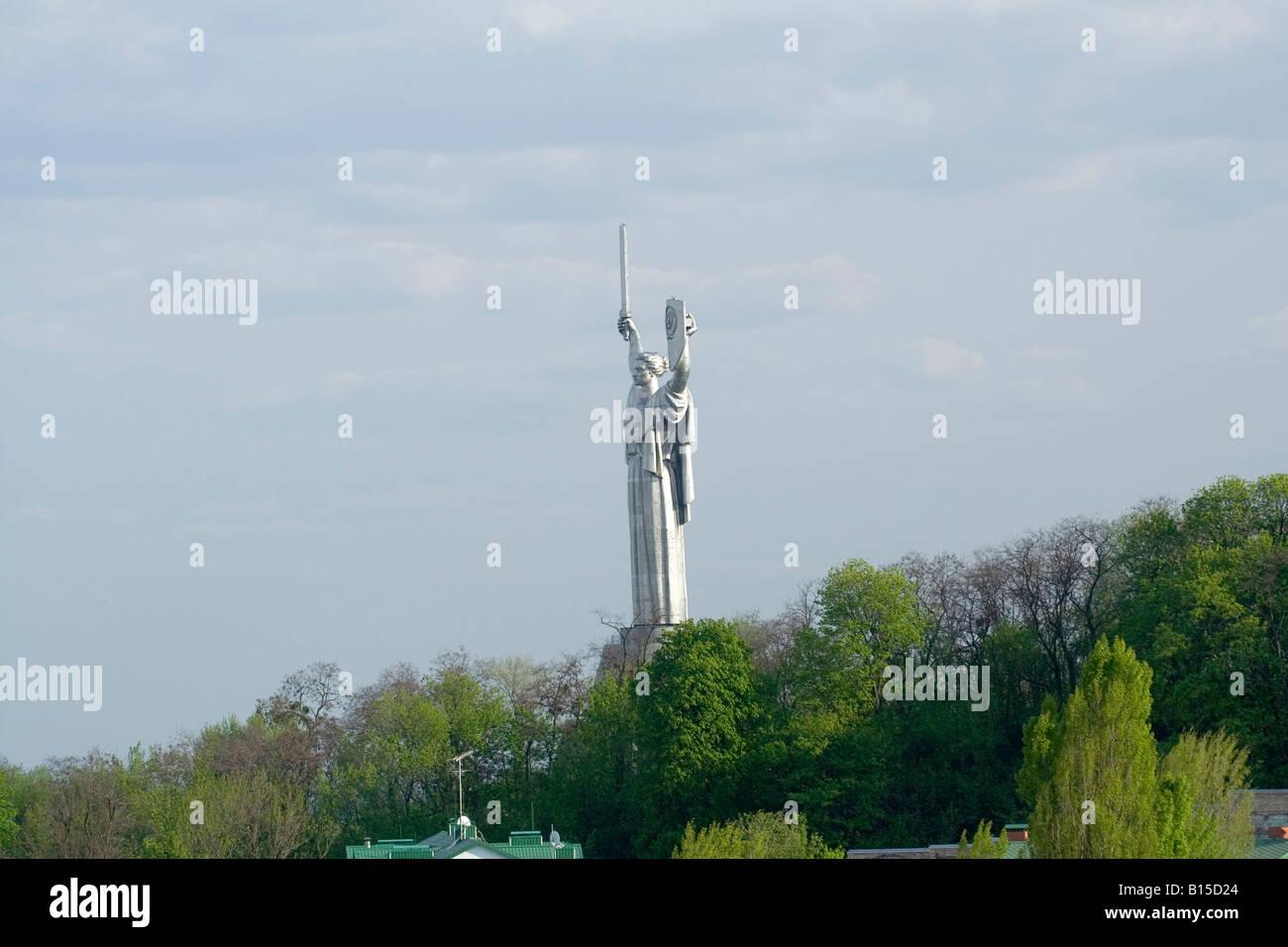 Second World War Great Patriotic War memorial - Stock Image