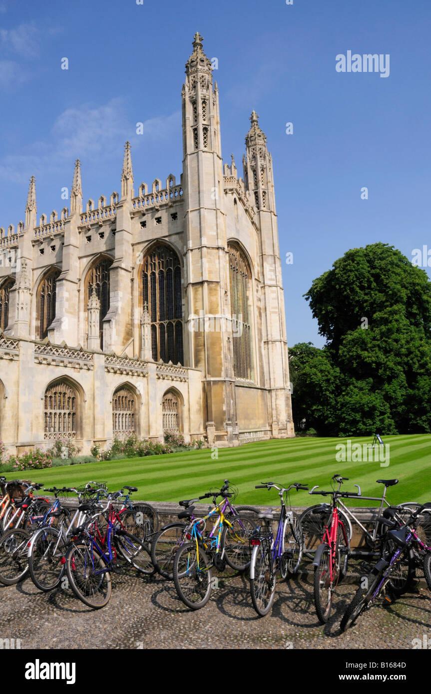 Kings College Chapel Cambridge England UK - Stock Image
