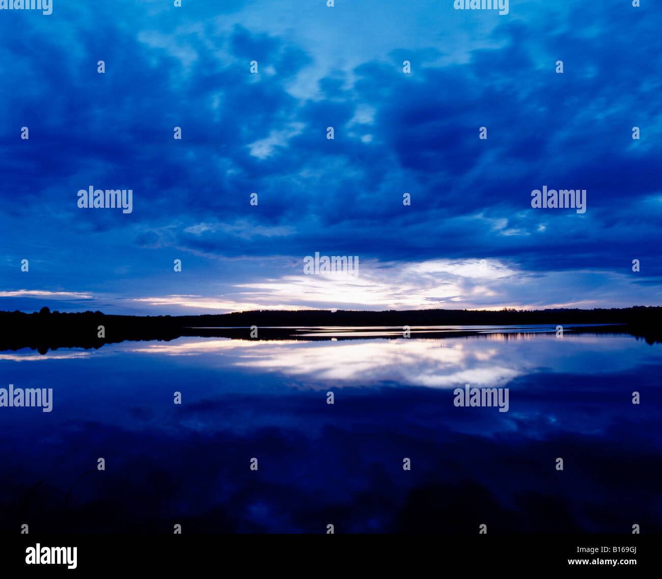 Lower Lough Erne, Co Fermanagh, Ireland - Stock Image