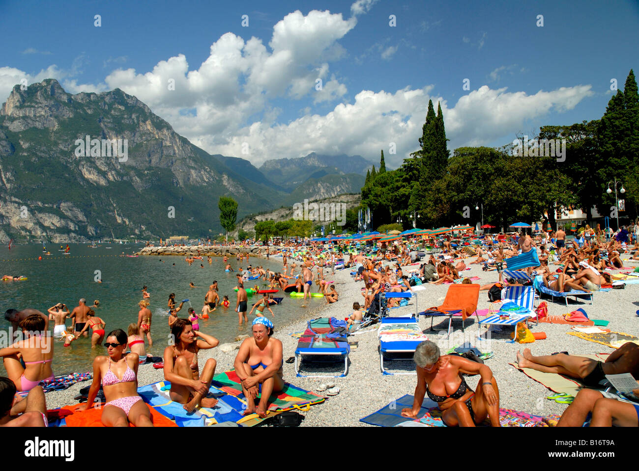 Beach Mountains And Lake In One Holiday