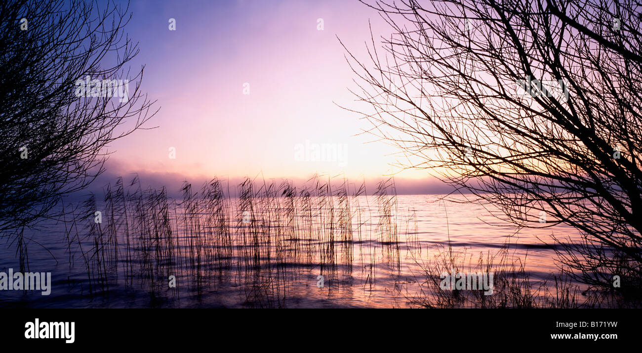 Lough Neagh, Ireland - Stock Image