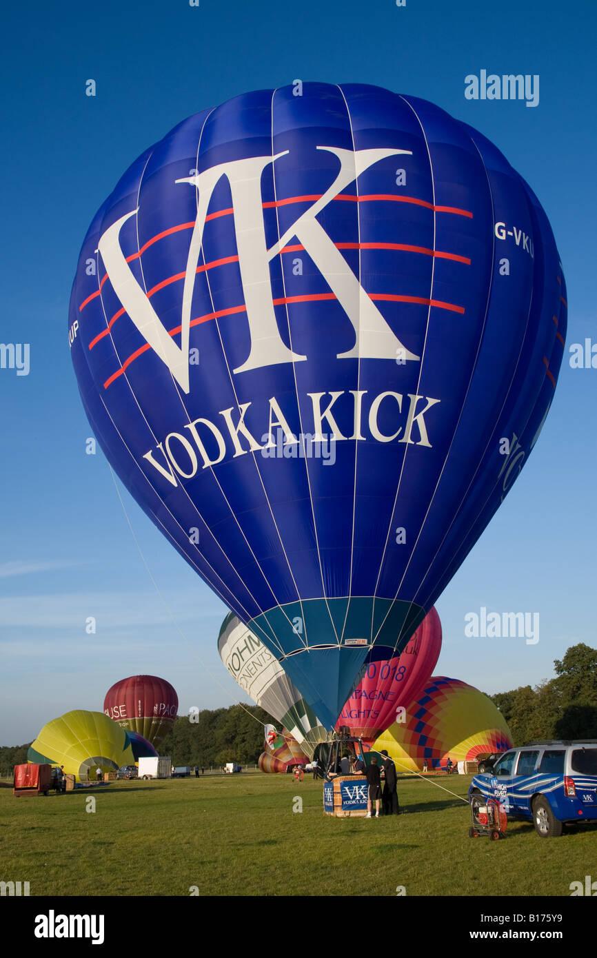 Vk Vodka Kick Hot Air Stock Photos & Vk Vodka Kick Hot Air