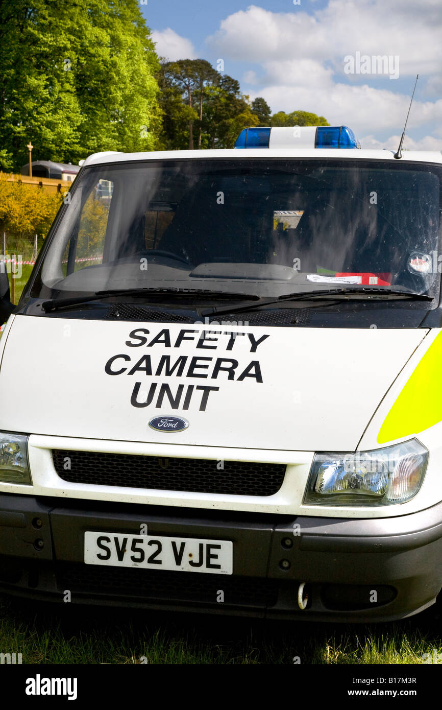 Ford Police Camera's detection van at The great Royal Highland Show 2010 Scottish Agricultural Society of Scotland, Stock Photo