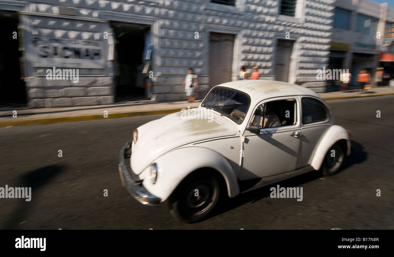 Fast Vw Beetle Car Mexico City Stock Photos & Fast Vw Beetle