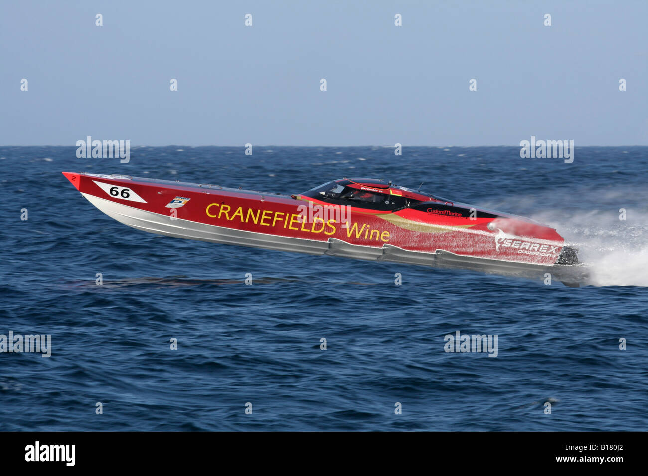 Powerboat P1 racing - Stock Image