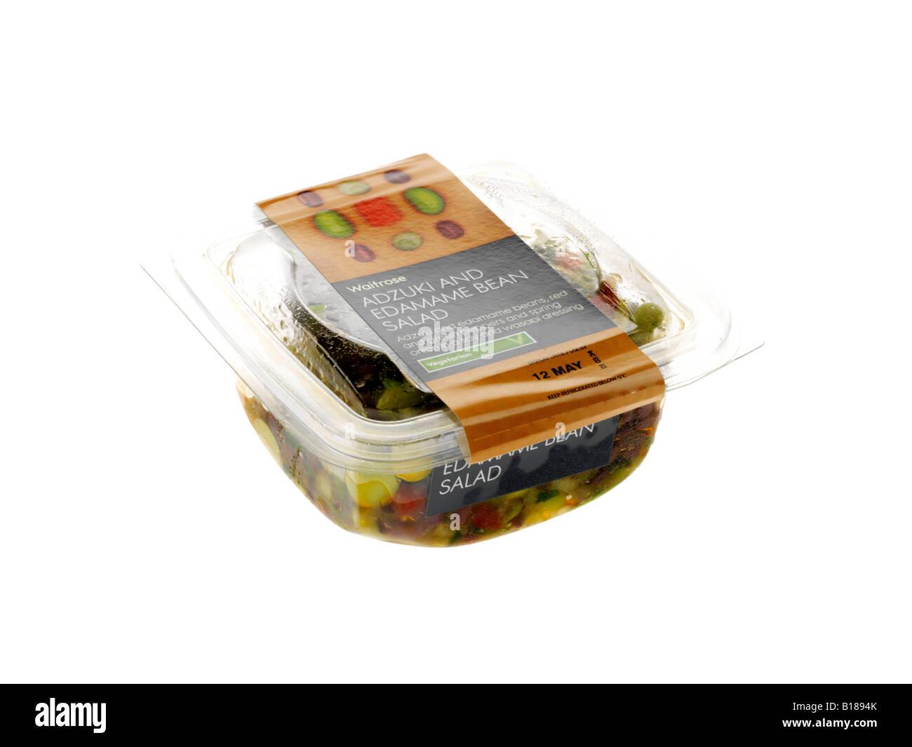 Adzuki and Edamame Bean Salad - Stock Image
