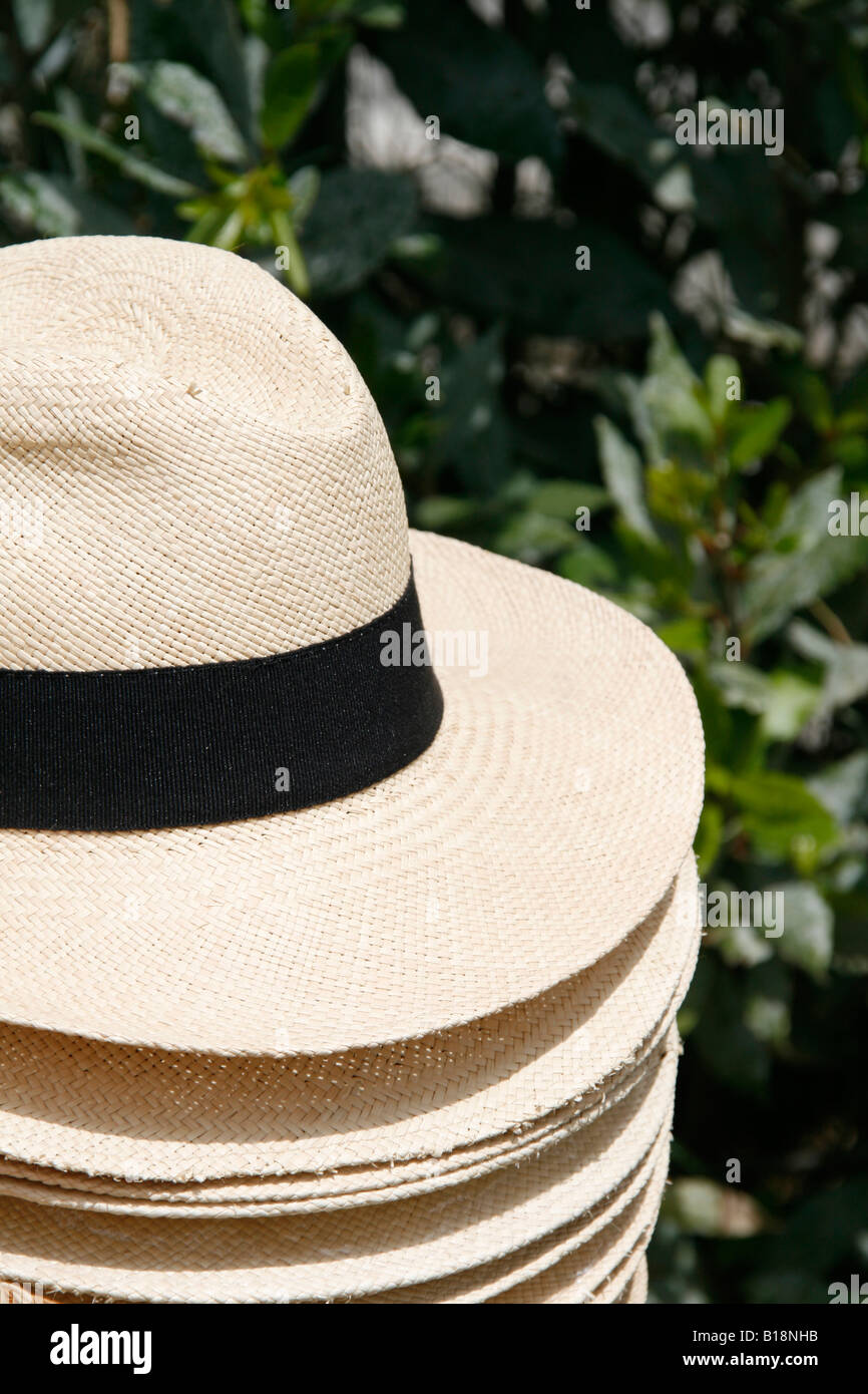 5991a29ca742f Smart Hats On Market Stall Stock Photos   Smart Hats On Market Stall ...