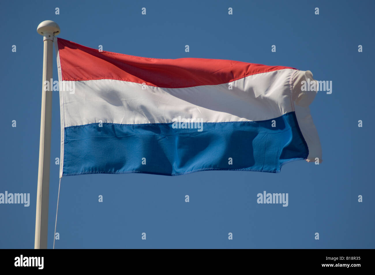French tricolour national banner flag flying - red white ... - photo#23