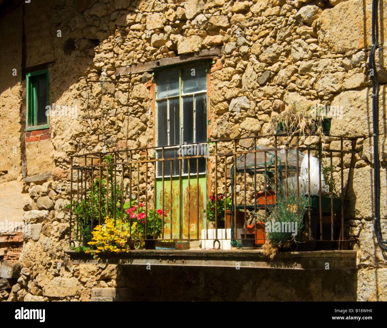 Balcony - Stock Image