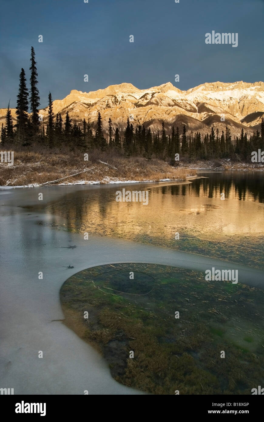 Hot Un Stock >> Miette Range Un Named Hot Spring Jasper National Park