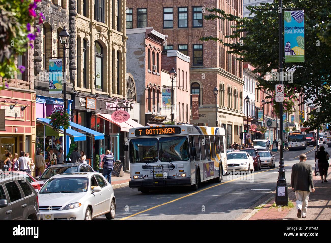 Barrington Street, Halifax, Nova Scotia, Canada-2340