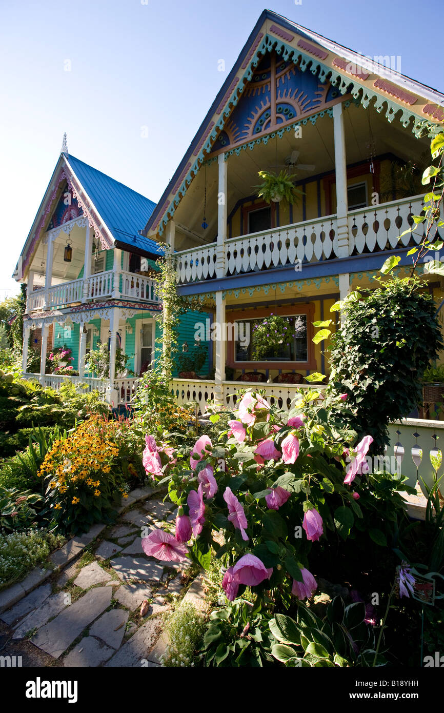 Victorian house in Grimsby Park, Grimsby, Ontario, Canada. - Stock Image