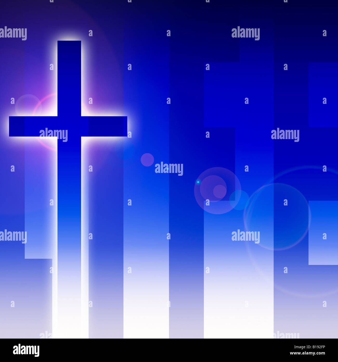 Life and the cross - Stock Image