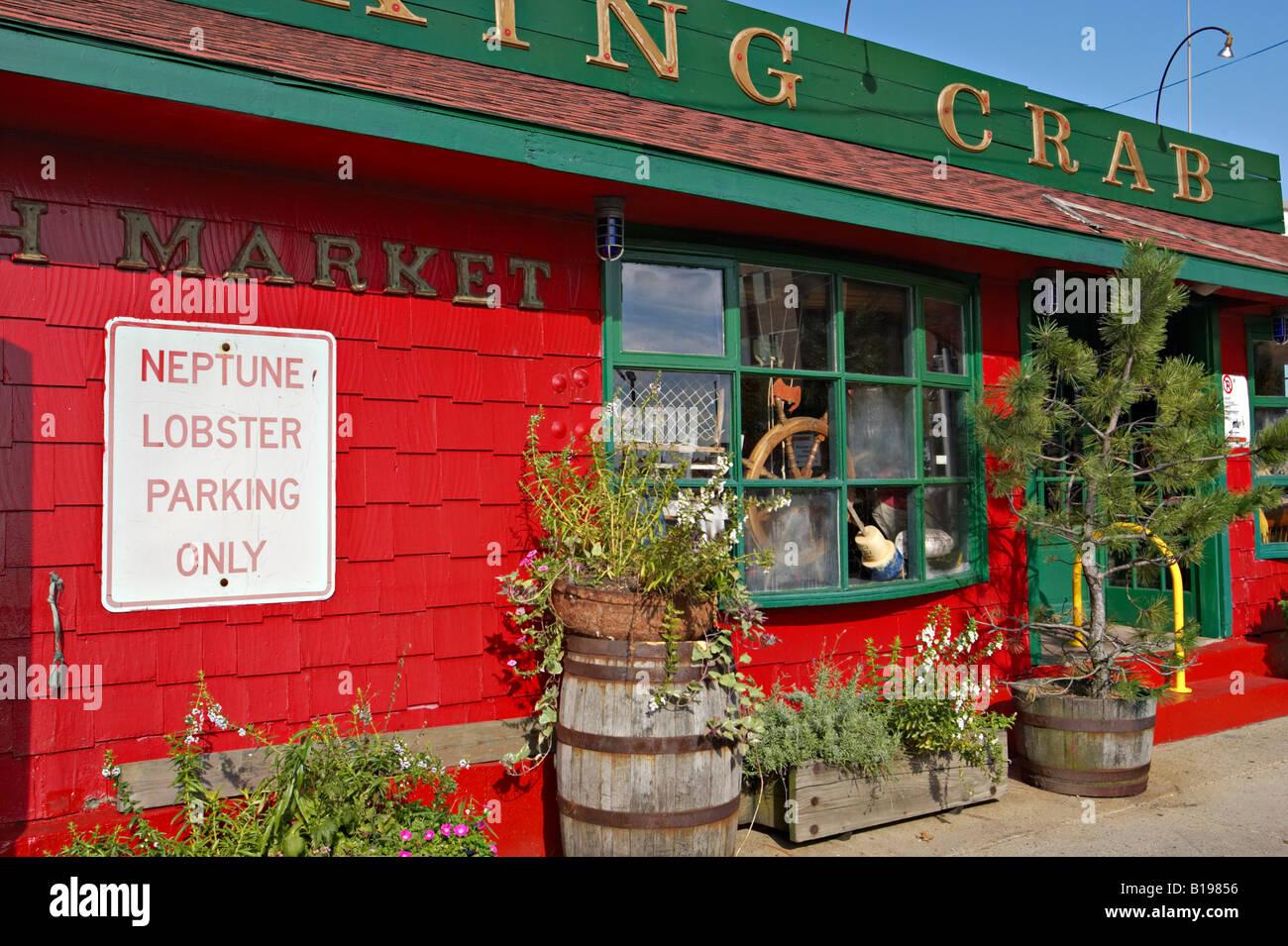 Massachusetts Boston Barking Crab Restaurant In Seaport