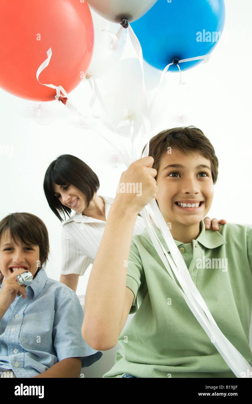 Child 9 Helium Balloon Stock Photos & Child 9 Helium Balloon Stock