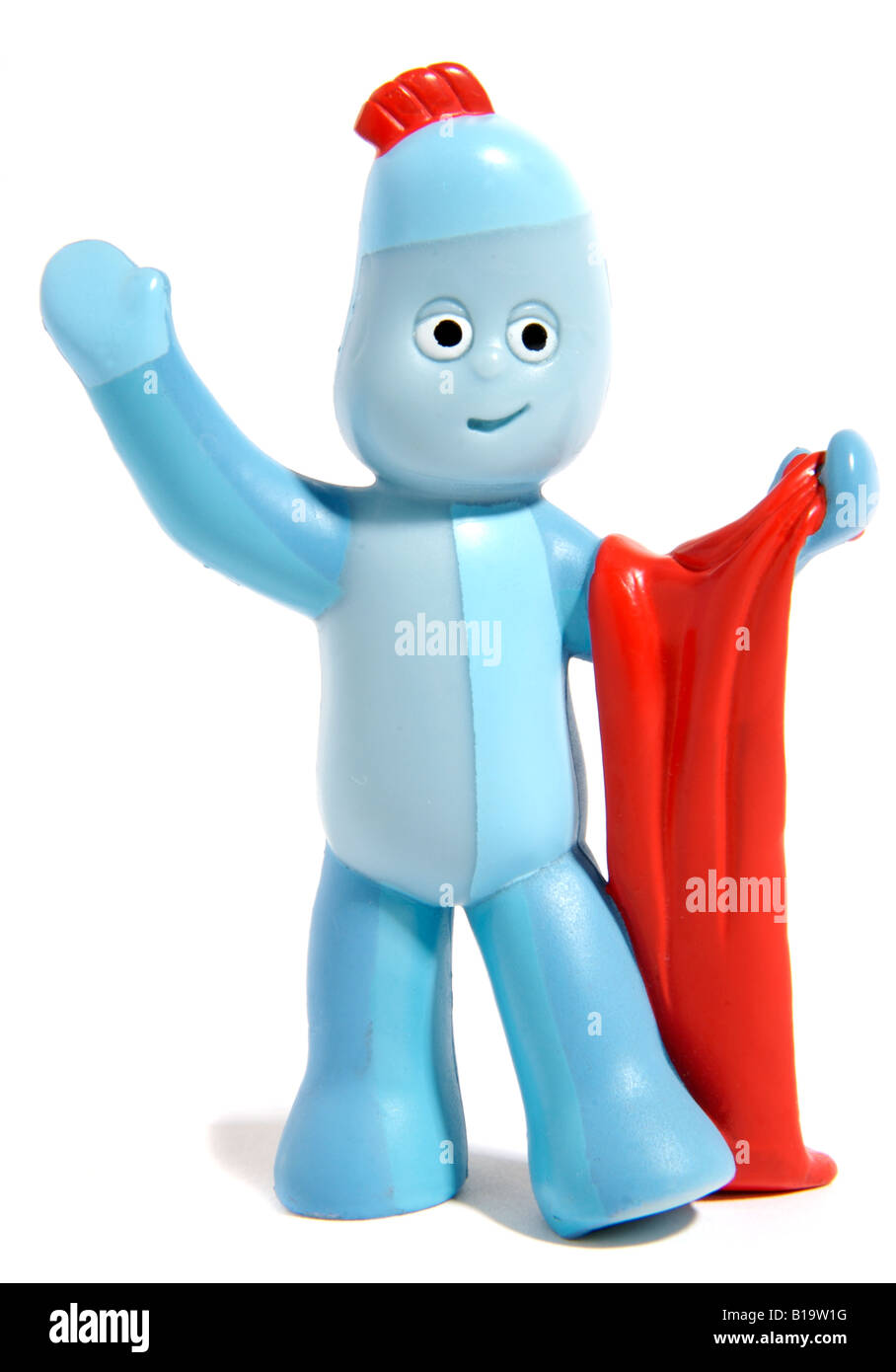 Iggle Piggle toy character from the television program for children, In the Night Garden. - Stock Image