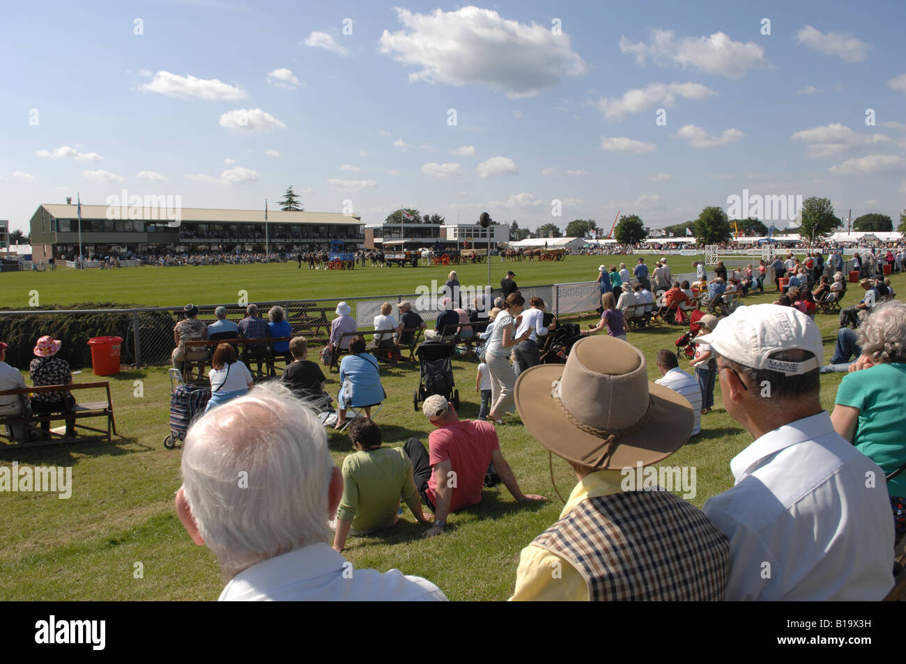 The main arena at the South of England Show in Ardingly Sussex UK June 2008 - Stock Image