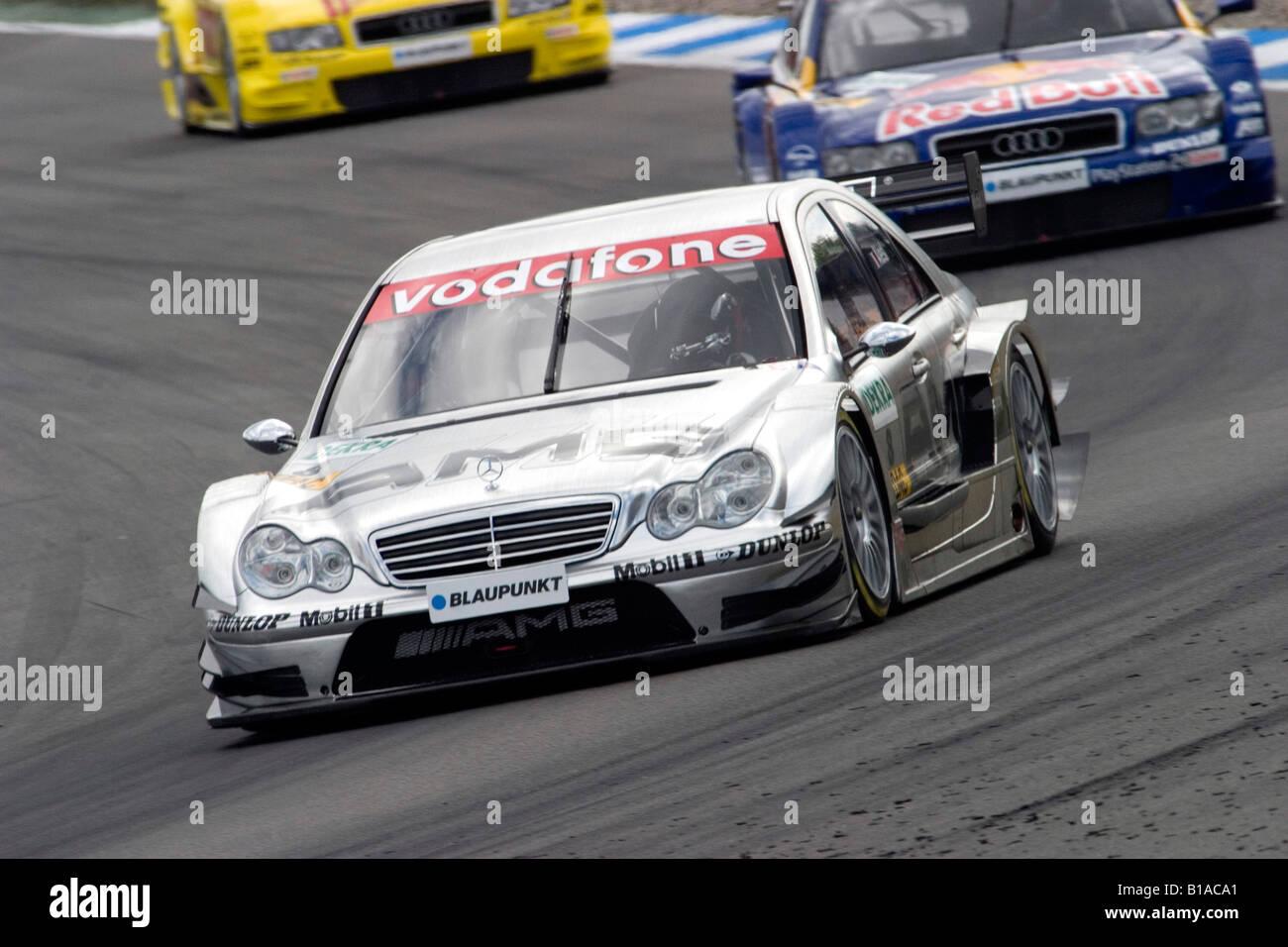 Jean Alesi, FRA, AMG Mercedes, DTM, Hockenheim, 18.04.2004 - Stock Image