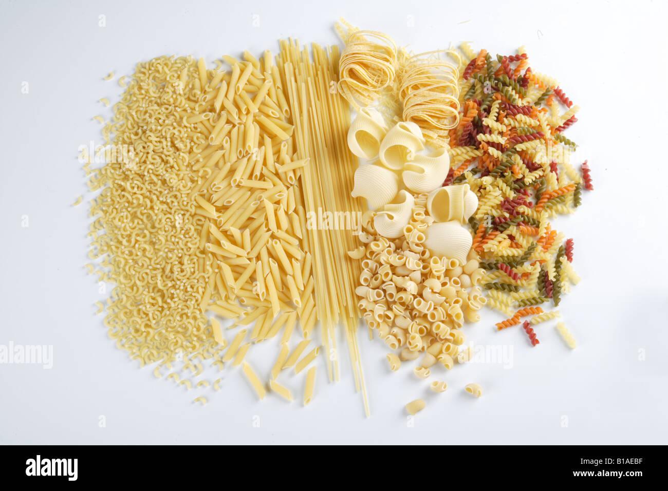 Still lifes of pasta (zhenital) - Stock Image