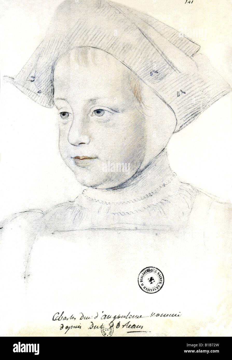 Charles, Duke of Orleans - Stock Image