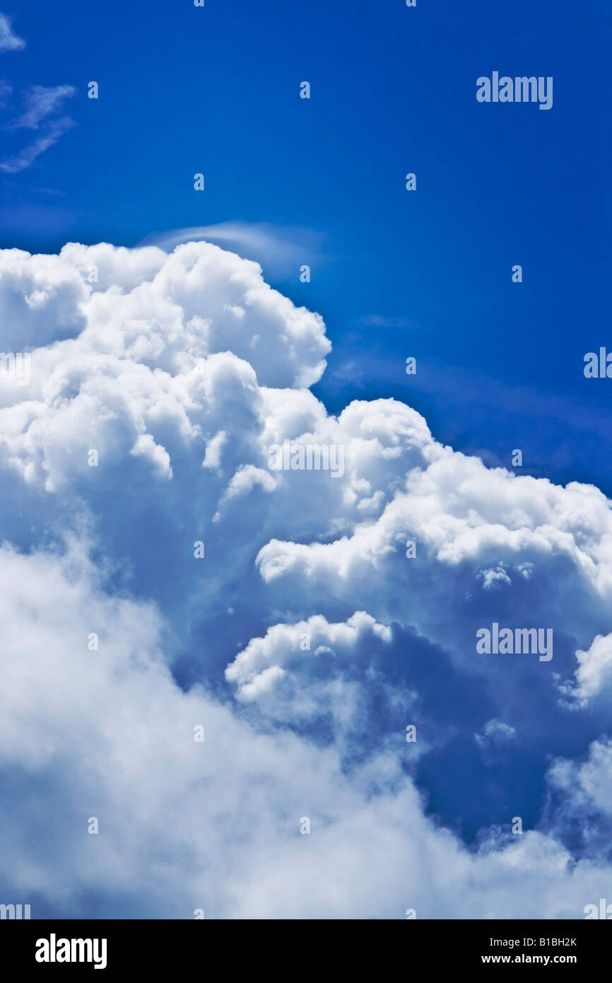 clouds on sky - Stock Image