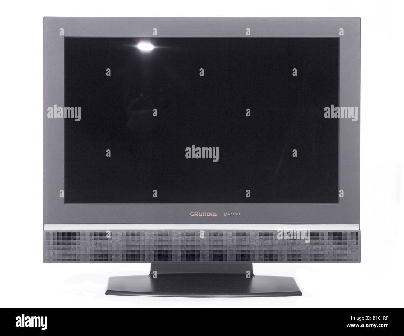 broadcast, television, TV set, typ Grundig Montreal, Germany, 2000s, Additional-Rights-Clearances-NA - Stock Image
