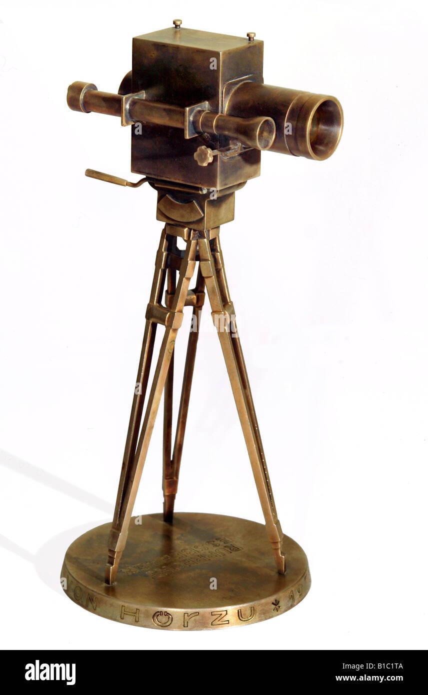 broadcast, television, awards, Golden Camera, German television award, typ for TV director Ruprecht Essberger, Germany, - Stock Image