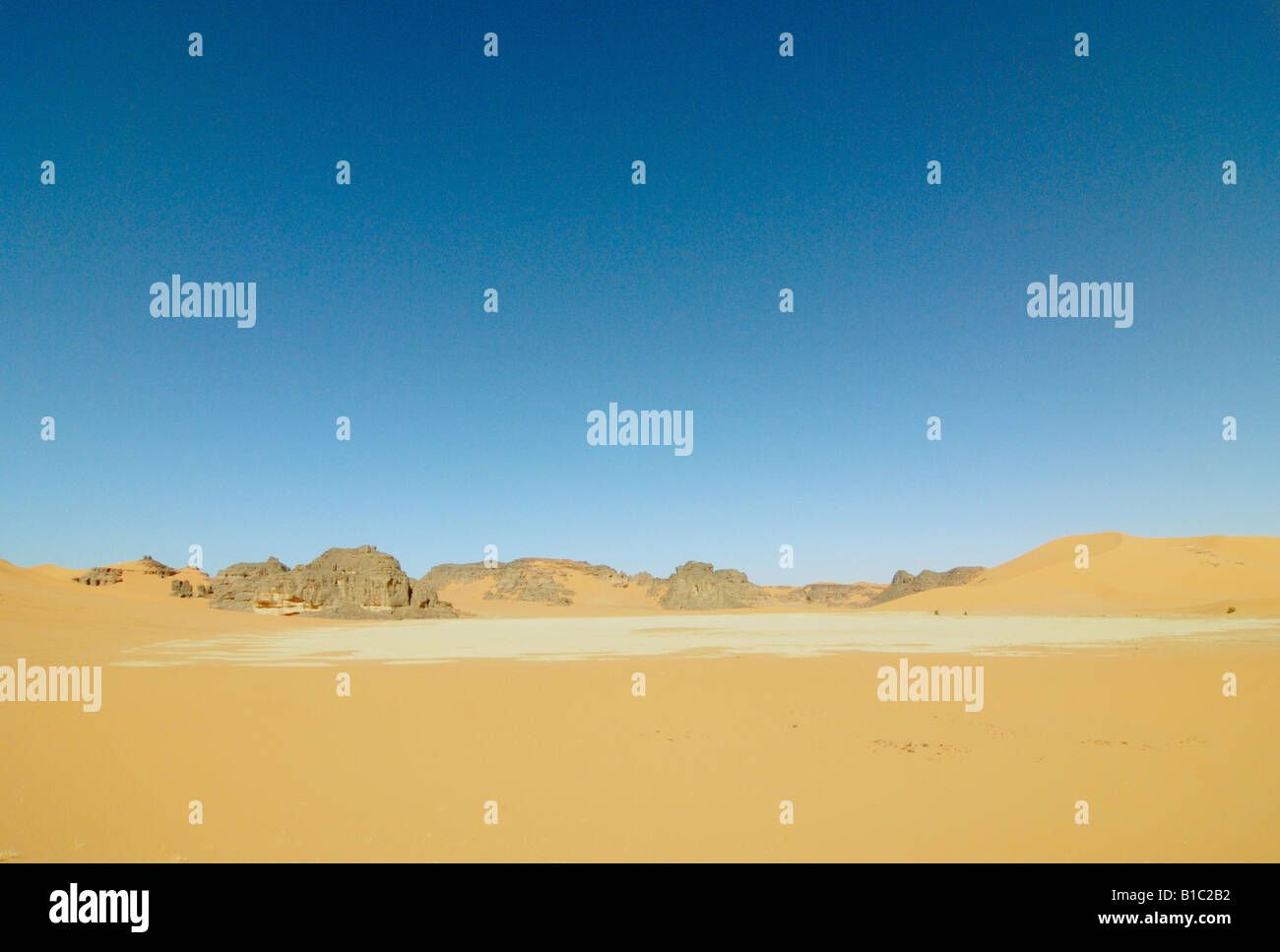 geography / travel, Algeria, landscapes, Sahara Desert, dune of Erg Tin Merzouga, Additional-Rights-Clearance-Info - Stock Image