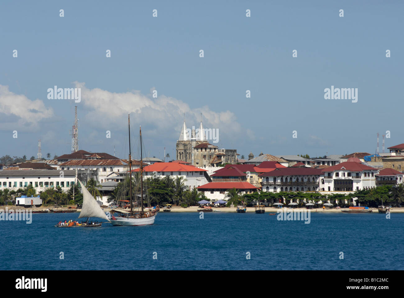 geography / travel, Tanzania, Stonetwon, city views / cityscapes, , Additional-Rights-Clearance-Info-Not-Available - Stock Image