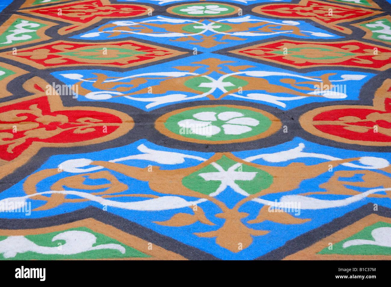 La Alfombra Carpet De Corpus Christi In La Laguna On Tenerife In