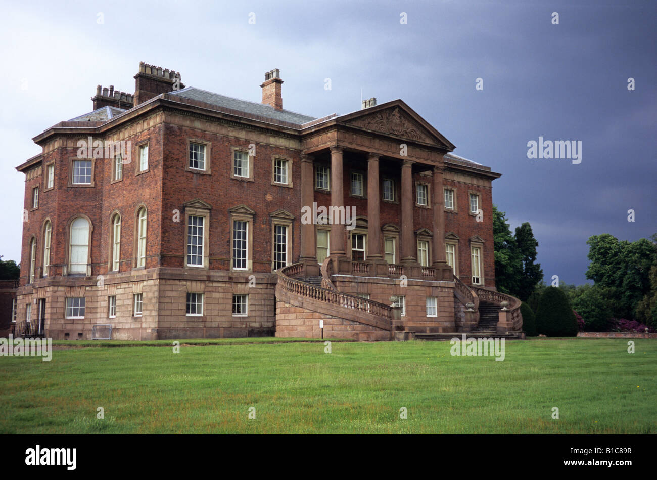 Tabley House Near Knutsford Cheshire - Stock Image