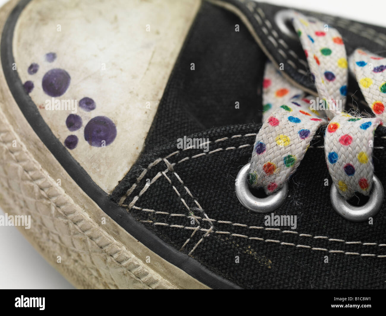 Converse All Star High Latex Back Basketball Dirty Lace Shoestring