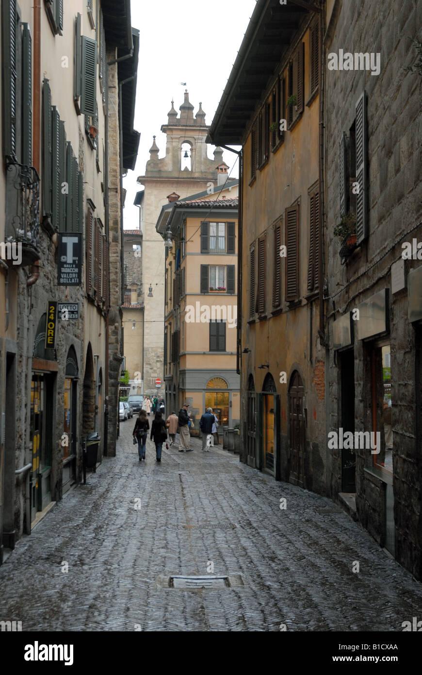 Bergamo alta stock photos bergamo alta stock images alamy for B b bergamo alta