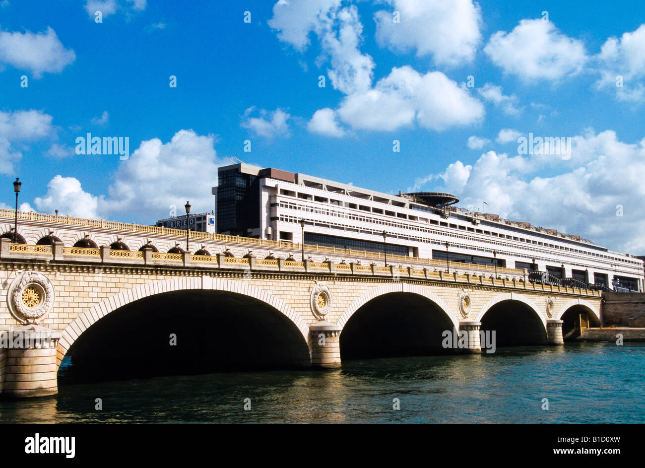 MINISTRY BUILDING BERCY PARIS FRANCE - Stock Image