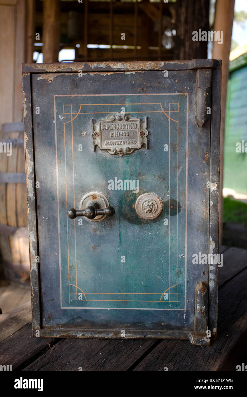 Vintage Safe Deposit Box Stock Photo 18111900 Alamy