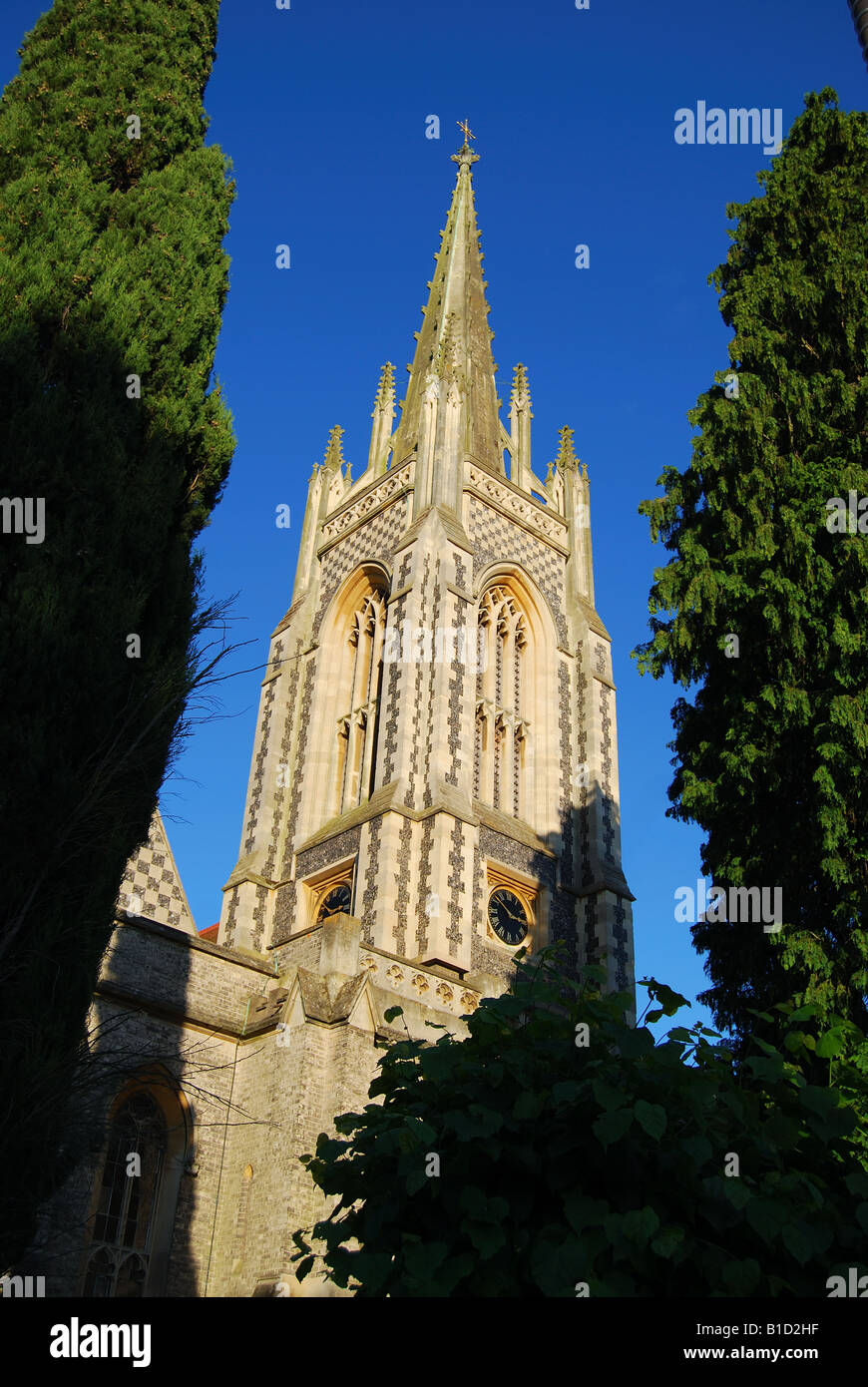 All Saints Church, Marlow, Buckinghamshire, England, United Kingdom - Stock Image