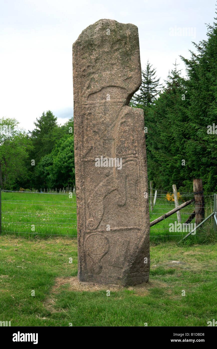 Maiden Stone, Pictish Monument near Inverurie, Aberdeenshire, UK. Stock Photo