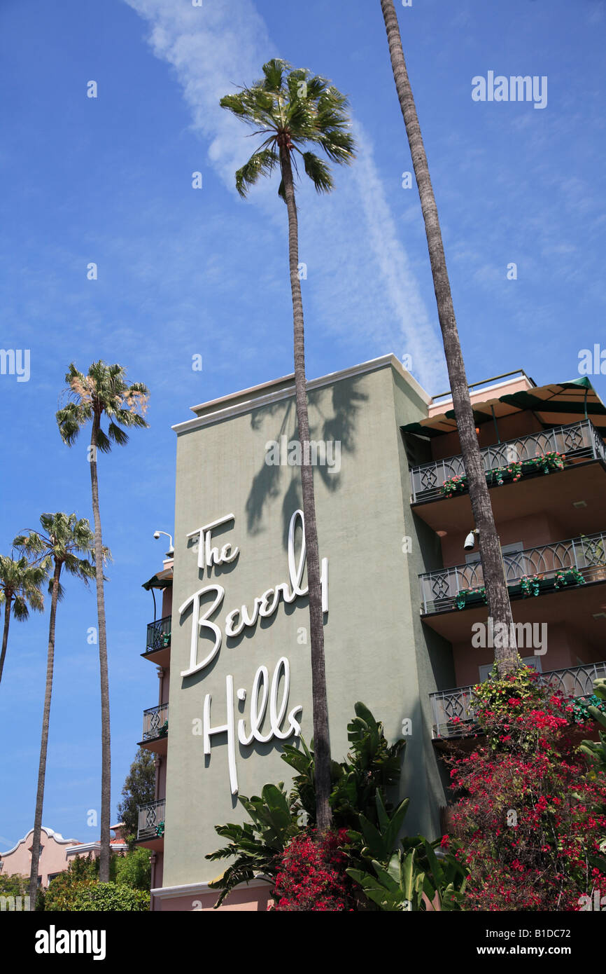 Beverly Hills Hotel Beverly Hills Sunset Boulevard Los