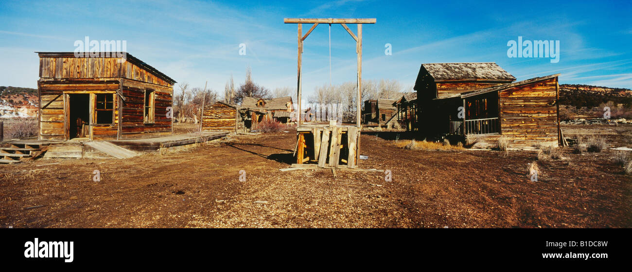 Johnson Ranch, location of TV series Gunsmoke,  in Utah USA - Stock Image
