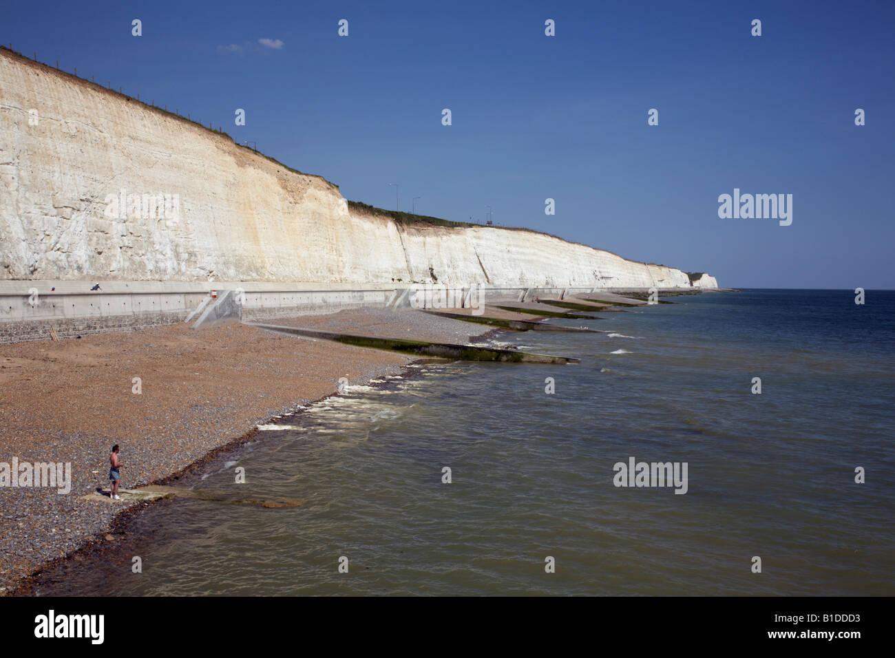 Beaches, Rottingdean, Sussex, England - Stock Image