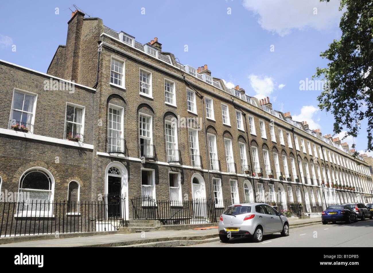 Highbury Terrace Highbury London N5 England Uk Stock
